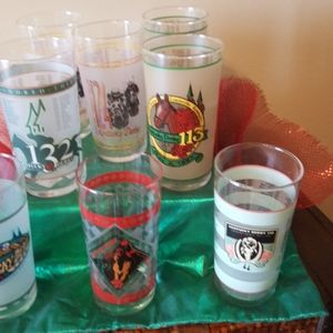 Dining - **KENTUCKY DERBY COLLECTOR'S GLASSES** (SET OF 8)